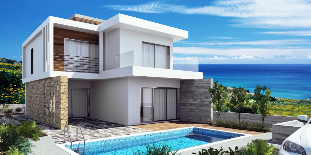 Lungomare Villas, Paphos.  View this property.