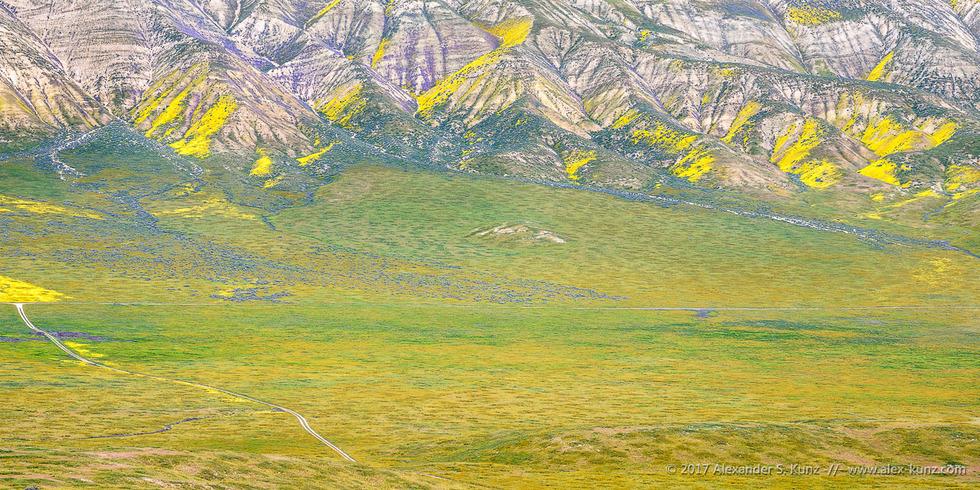 Temblor Range from Elkhorn Hills © Alexander S. Kunz