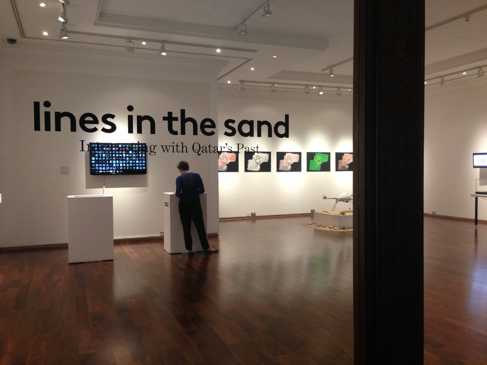 - Lines in the Sand'Lines in the Sand' was made possible through a collaboration between VCUQatar, the University of Wales and Qatar Museum Authority and was funded by a VCUQatar Faculty Research Grant.