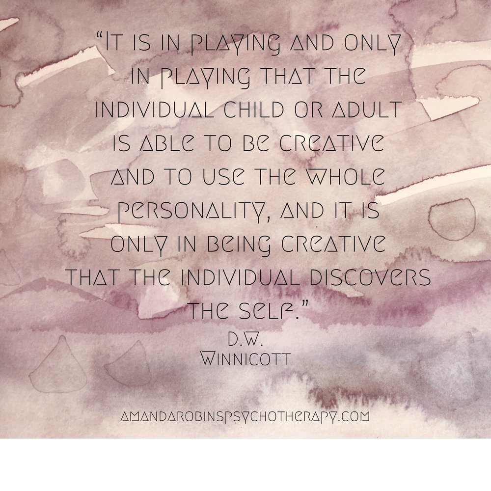 Winnicott has always been one of my favourite theorists and his writings on infant mental health are inspiring.