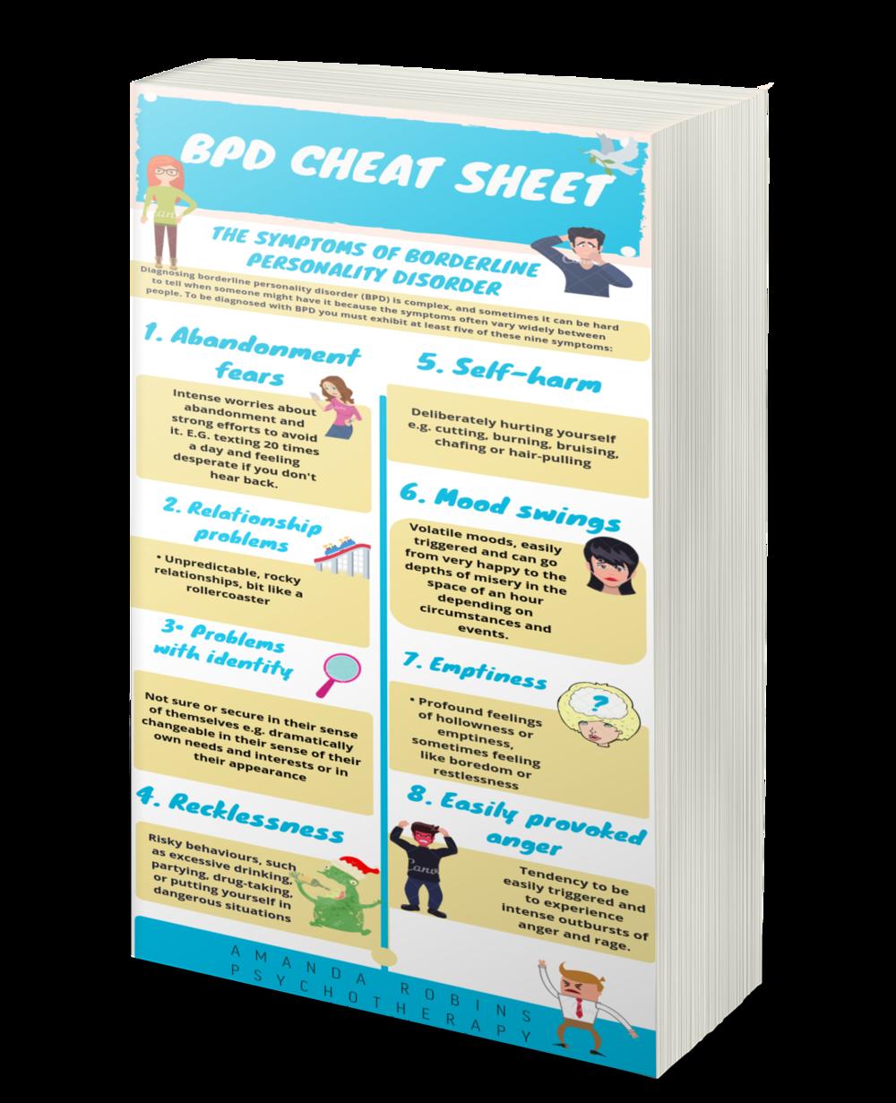 BPD-Cheatsheet
