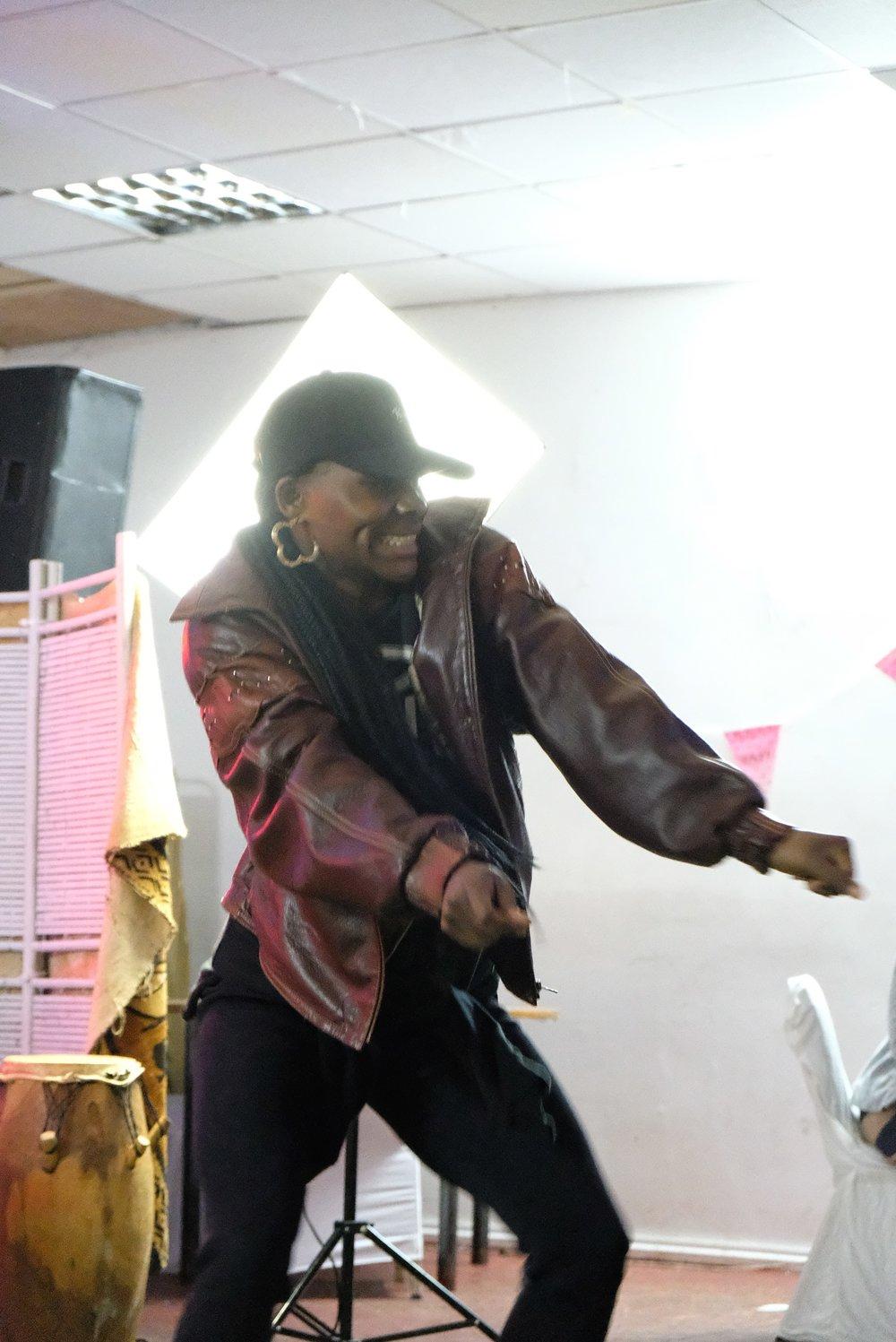 Divine Tasinda    Dancehall, afro-beat, hop hop    Teacher, performer, C  horeographer