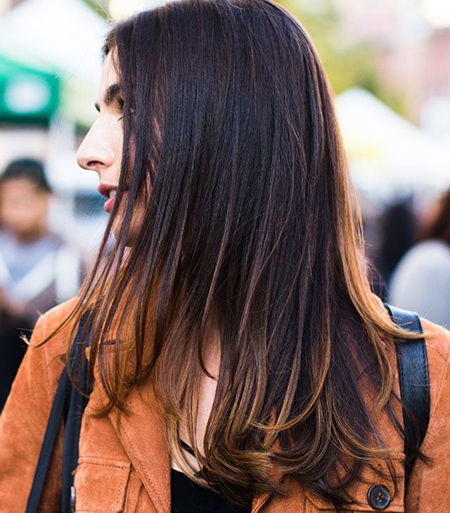 Brunette - Adds dimension to brown hair