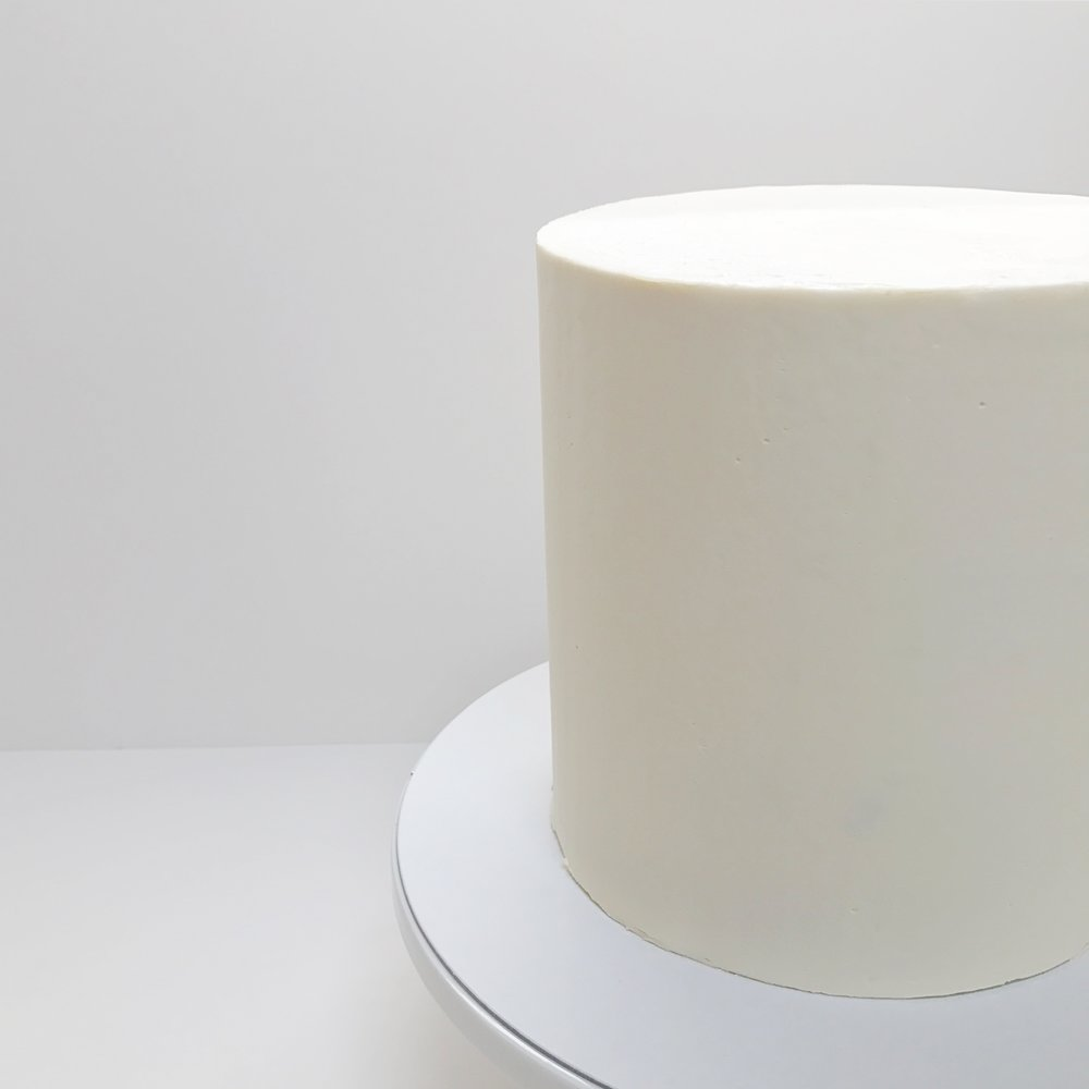Smooth Buttercream Cake White.JPG