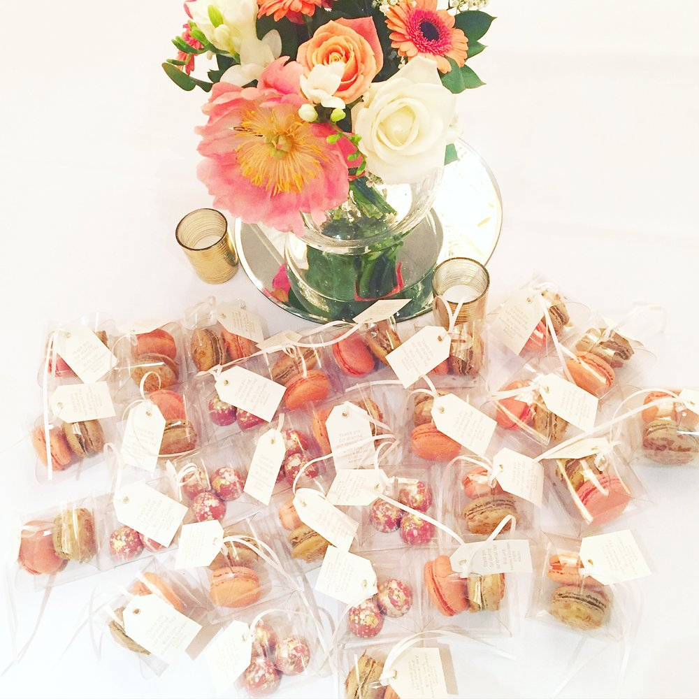 Custom Wedding Favours