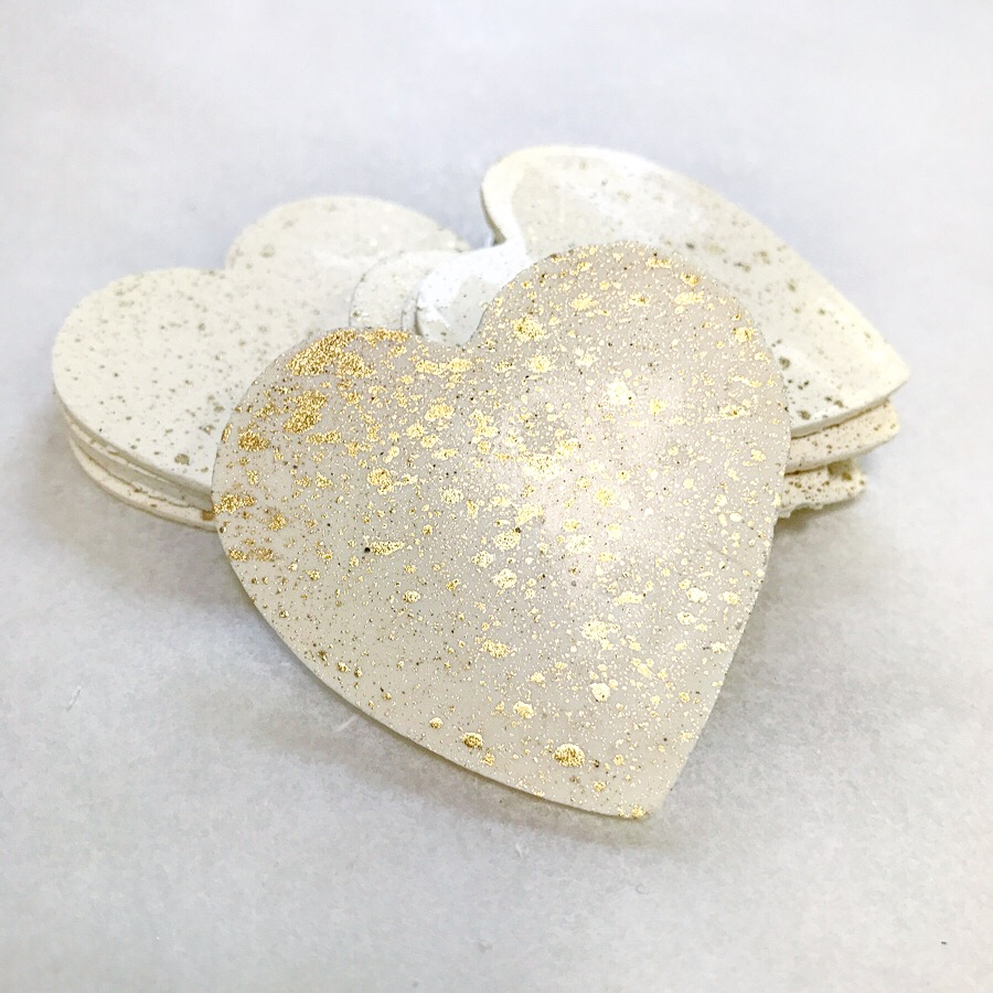 White chocolate and gold heart.JPG