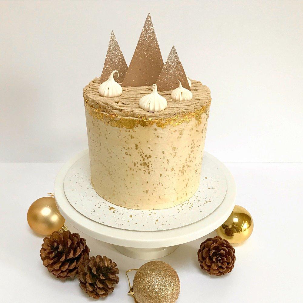 Mont Blanc Cake -