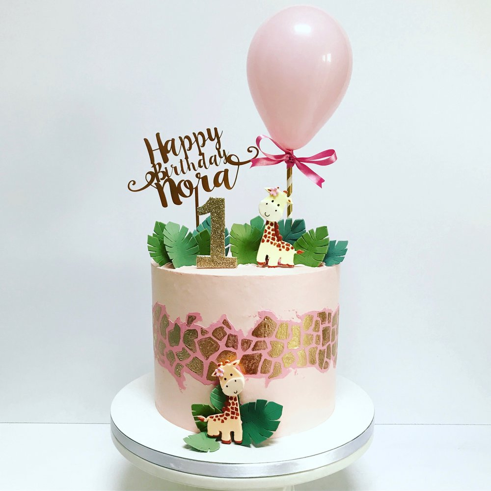 Giraffe Themed 1st Birthday Cake.jpg