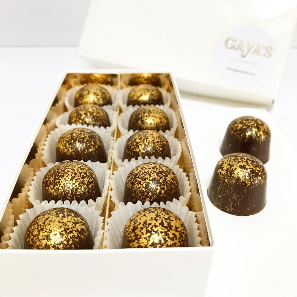 Sea Salt Caramel Chocolate Bonbons -