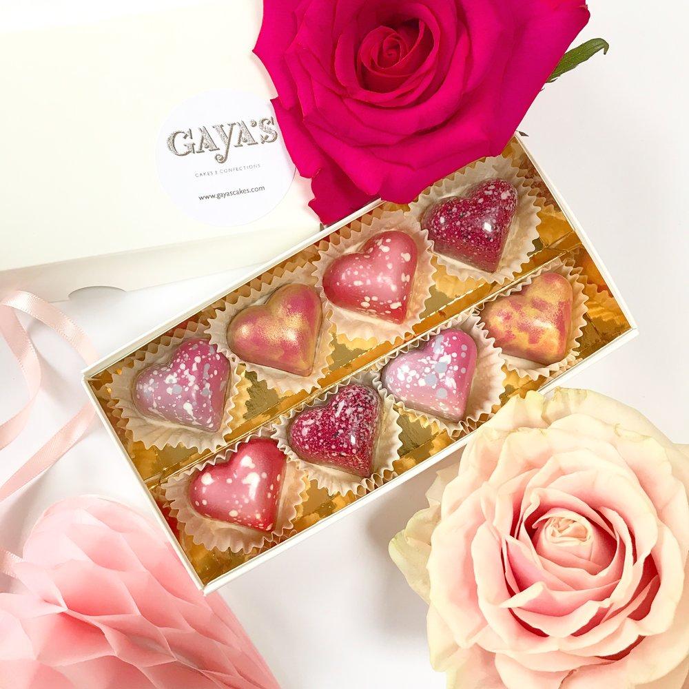 Valentine's Chocolate Bonbons -