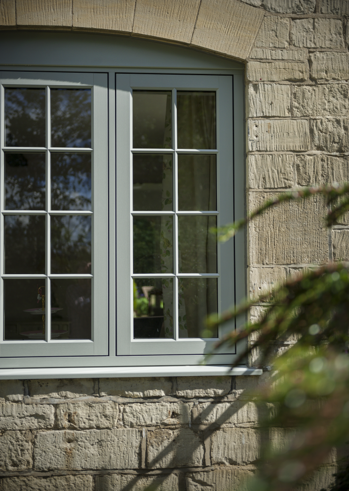 Flush Casement PVC Window