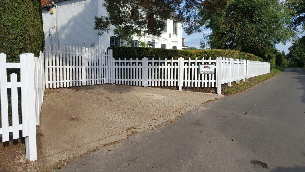 PVCu Gates & Fencing