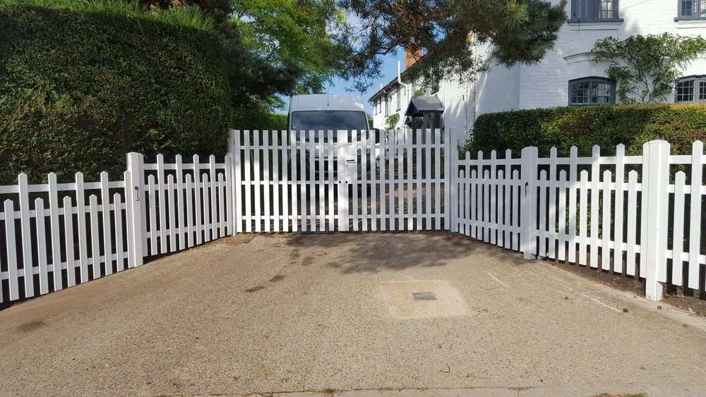 PVC Gates and Fencing