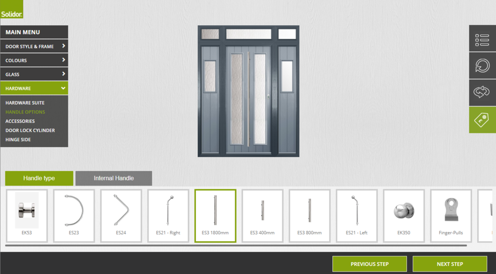 Want the perfect new door? Design your own online.