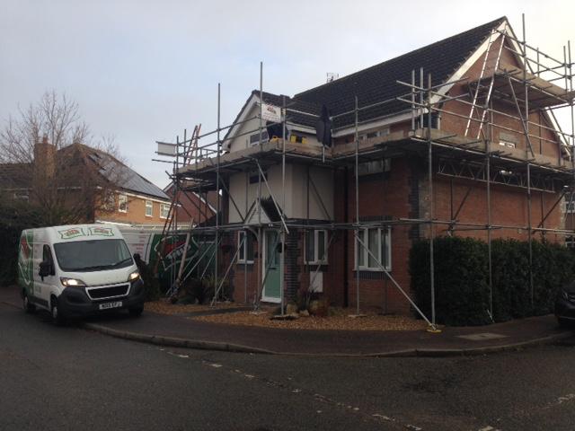 Thetford Roofline Job