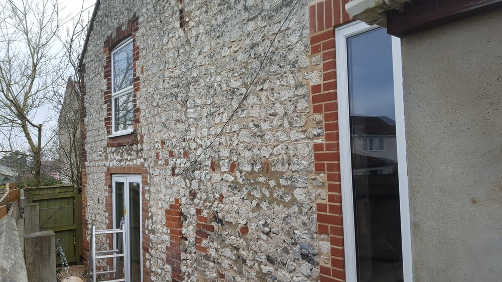 Lovely Job 1 - New Window and Brickwork