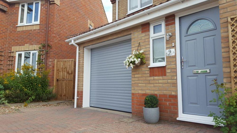 Roller Shutter Or Up and Over Garage Doors?
