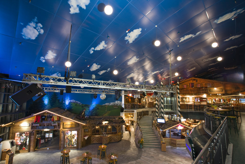 Ski Hall, Neuss - Mediatex® Presto
