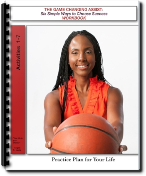 The Game Changing Assist Workbook guides youth through practical activities that allow them to create a roadmap for their futures. Students will create vision boards, daily affirmations etc and learn exactly what it takes to accomplish their goals. This book accompanies the Game Changing Assist: Six Simple Ways to Choose Success and is ideal for summer programs, after school programs, youth organizations and school groups. Each session empowers students to think critically about their daily choices.