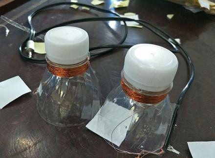 Đôi tai nghe làm từ vật liệu tái chế đã hoàn thành