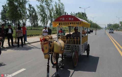 Sản phẩm suốt 12 năm ròng rã của ông nông dân ở Hà Nam (Trung Quốc).