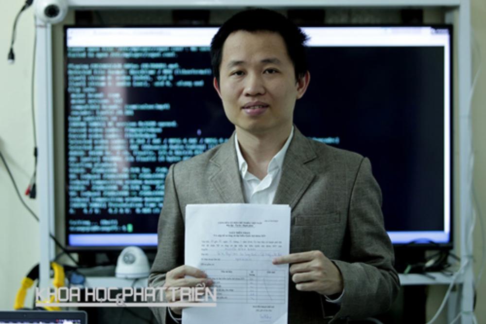 Tiến sỹ Nguyễn Đình Nam - Giám đốc Công ty cổ phần VP9 Việt Nam.