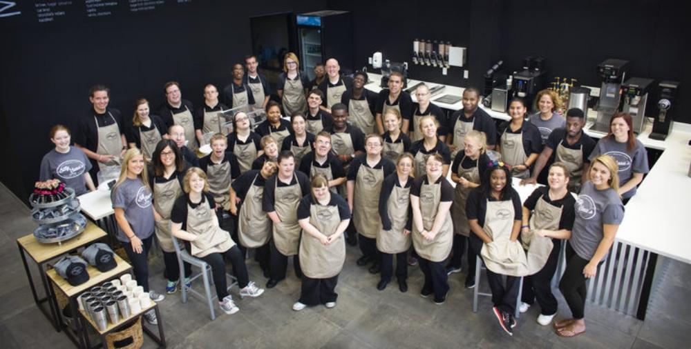 Bitty and Beau's Coffee hiện có 40 nhân viên bị khuyết tật về trí tuệ và phát triển