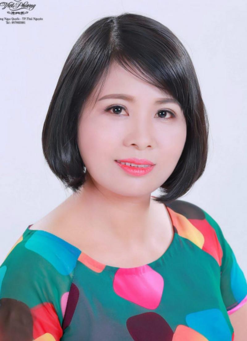 Chị Đồng Thị Thanh Tùng, tác giá sản phẩm