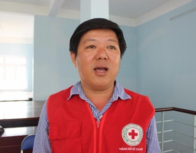 Ông Nguyễn Quốc Minh, Chủ tịch Hội Chữ thập đỏ quận 8 cho biết việc lắp đặt tủ sơ cấp miễn phí nhận được sự ủng hộ và đồng tình cao từ phía người dân.
