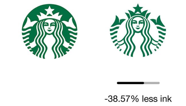 Logo chuỗi cửa hàng cà phê Starbucks: 38,57%