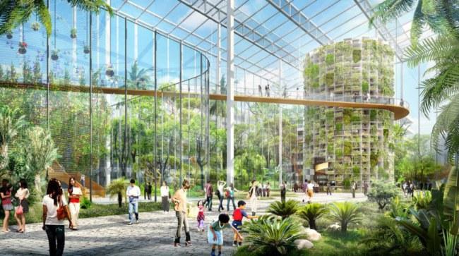 Trang trại khổng lồ tại Thượng Hải nuôi sống gần 24 triệu người - Thượng Hải, Trung Quốc, có dân số hơn 24 triệu người, và một trang trại 100 hec-ta đã được lên kế hoạch xây dựng cho thành phố này và dự kiến có thể nuôi sống cả thành phố.