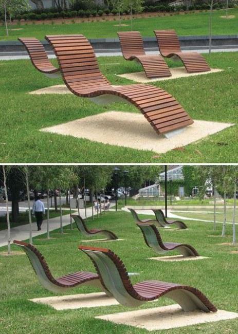 """Ảnh: Ghế ngồi """"không chân"""" ấn tượng ở khuôn viên Đại học Sydney (Úc)"""