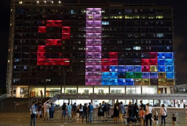 - Thiết kế này là điểm nhấn ấn tượng tại Festival Đổi mới sáng tạo DLD Tel Aviv.