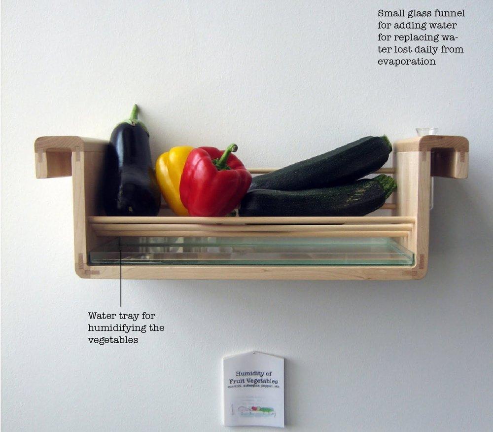 - Bằng việc điều tiết nhiệt độ và độ ẩm, chúng ta có thể làm chậm 'sự sống' này và lưu trữ thực phẩm lâu hơn. Đó cũng là lý thuyết hoạt động của tủ lạnh.
