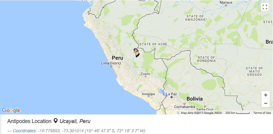 - rất tiếc không phải Cuba như cô giáo dạy mà bạn sẽ tới Peru