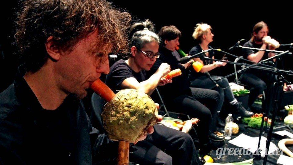 4. The Vegetable Orchestra (Dàn nhạc rau quả) -