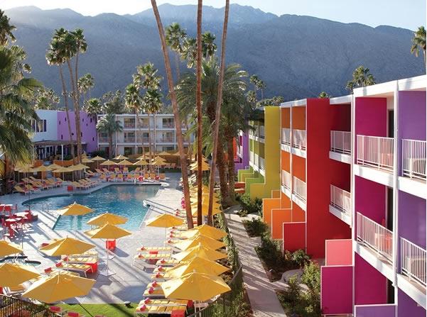 Khách sạn Saguaro Palm Springs tại tiểu bang California -