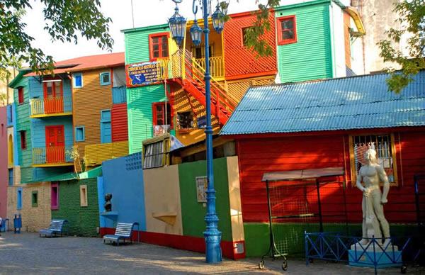 Khu phố La Boca tại thủ đô Buenos Aires, Argentina -