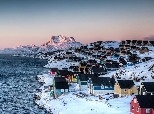 Thủ phủ Nuuk của Greenland -