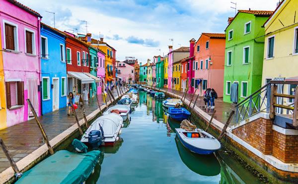 Vịnh Venetian tại Ý -
