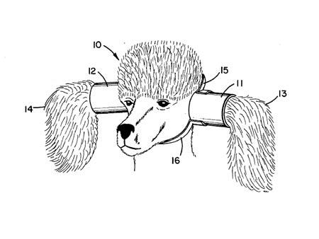 Thiết bị bảo vệ tai cho chó -