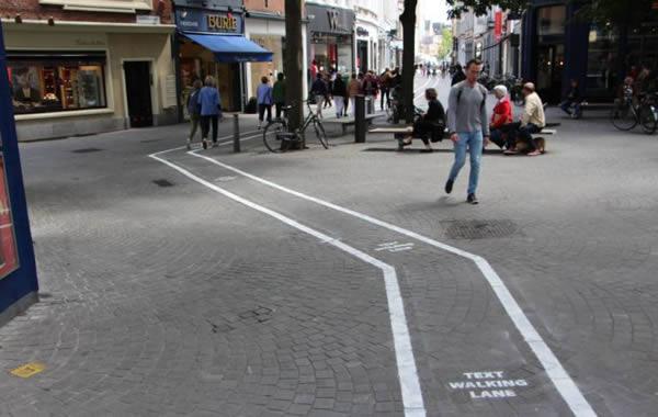 Làn đường nhắn tin tại Bỉ -