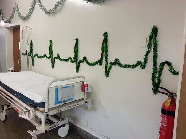 Chúc bệnh nhân sẽ có đường điện tâm đồ như thế này.