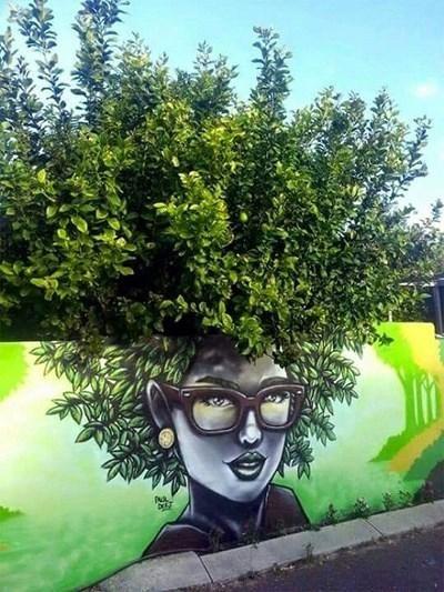 Đây không phải là một cây xanh đơn thuần, đây là một cây xanh trẻ trung và cá tính.