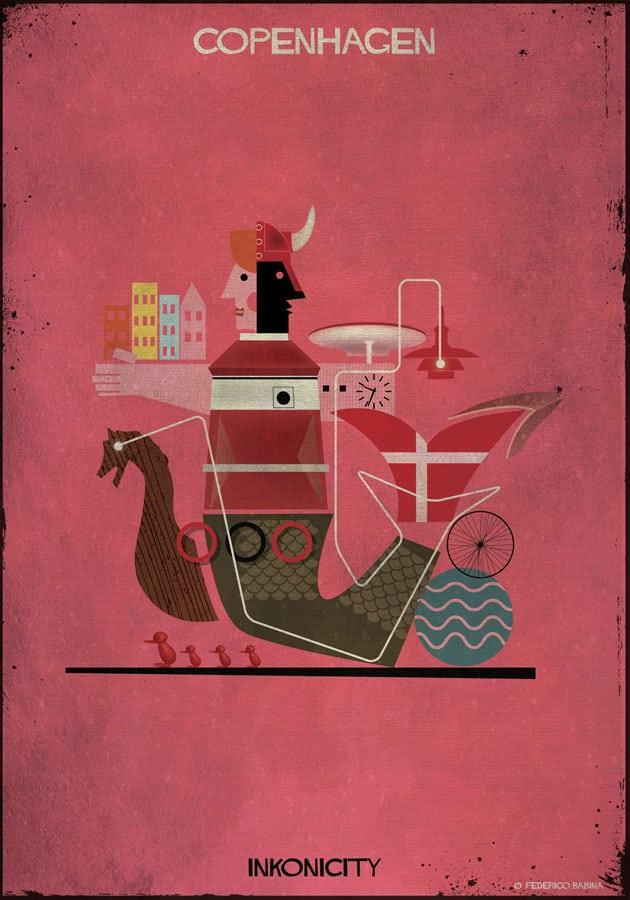 """- """"Copenhagen"""" của Babina gợi cho ta nhớ đến những câu chuyện cổ tích Andersen với nàng tiên cá, cùng nhiều kiến trúc nổi bật như những tòa nhà chọc trời, những con đường lát đá nhuốm màu thời gian, những nhà thờ hàng trăm năm tuổi, những con kênh tuyệt đẹp không thua kém gì Venice…"""