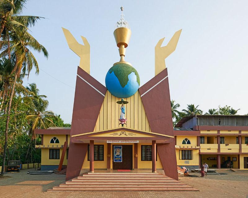 Nhà thờ Assumption tại Mupliyam, Kerala