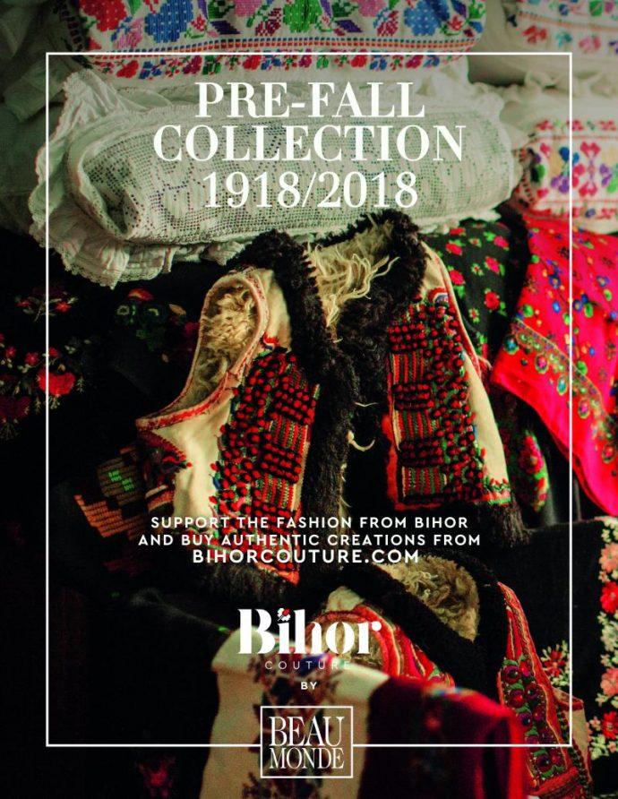 """- Tạp chí thời trang Beau Monde của Romania khởi động một chiến dịch truyền thông lớn với khẩu hiệu """"Đừng để mất đi nét truyền thống""""."""