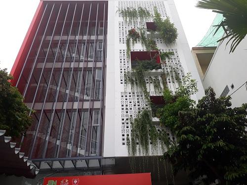 Những tòa nhà đạt tiêu chuẩn Lotus SB phải sử dụng nhiều mảng xanh.