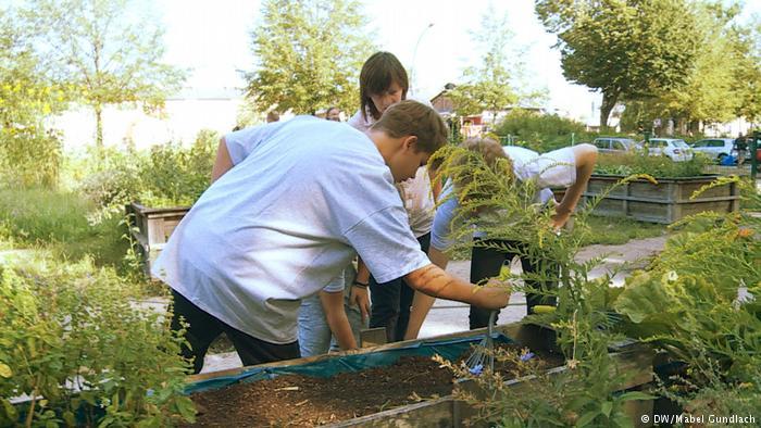Với học sinh tại đây, không gian sống và các dụng cụ trồng trọt cũng quan trọng không kém viết mực và sách vở.