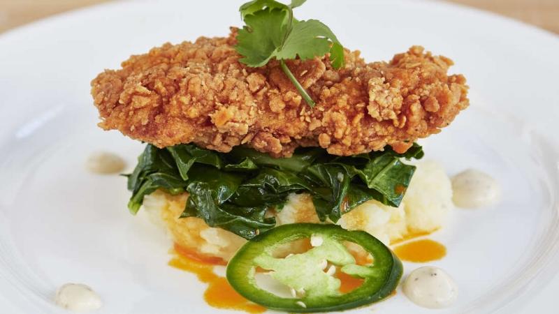 Miếng thịt gà rán đầu tiên trên thế giới được chế biến mà không cần phải giết mổ một con gà nào.